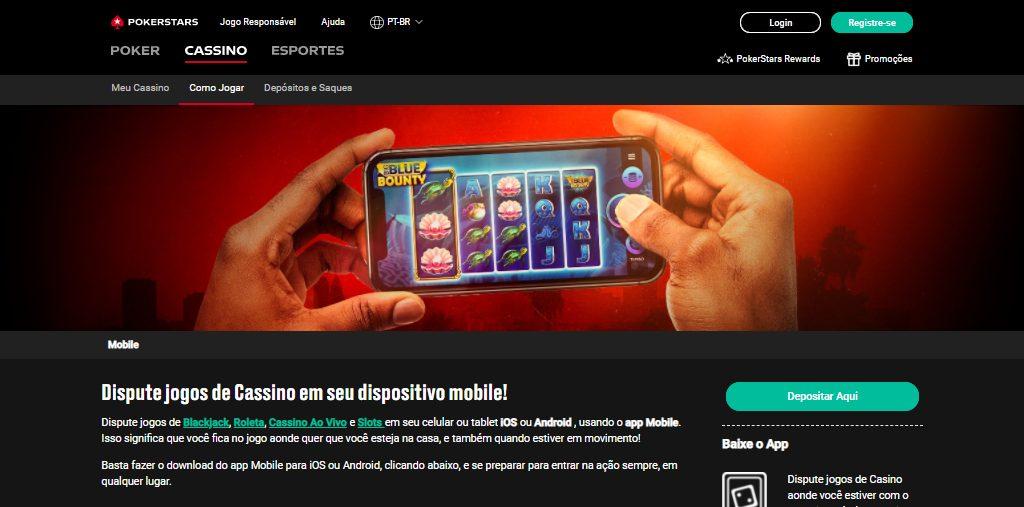 Pokerstars cassino Mobile