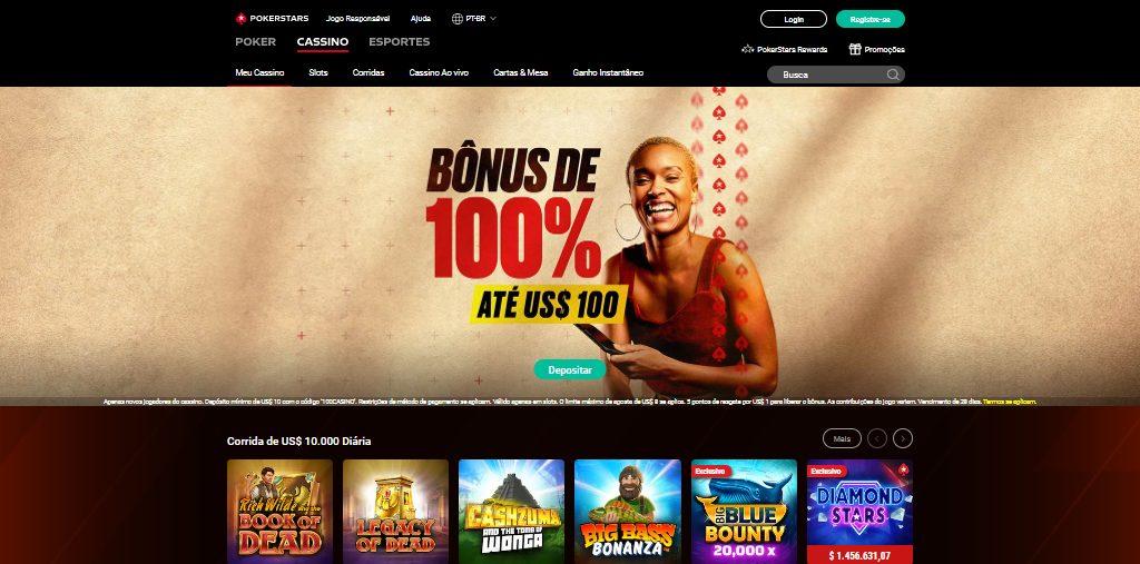 pokerstars cassino homepage