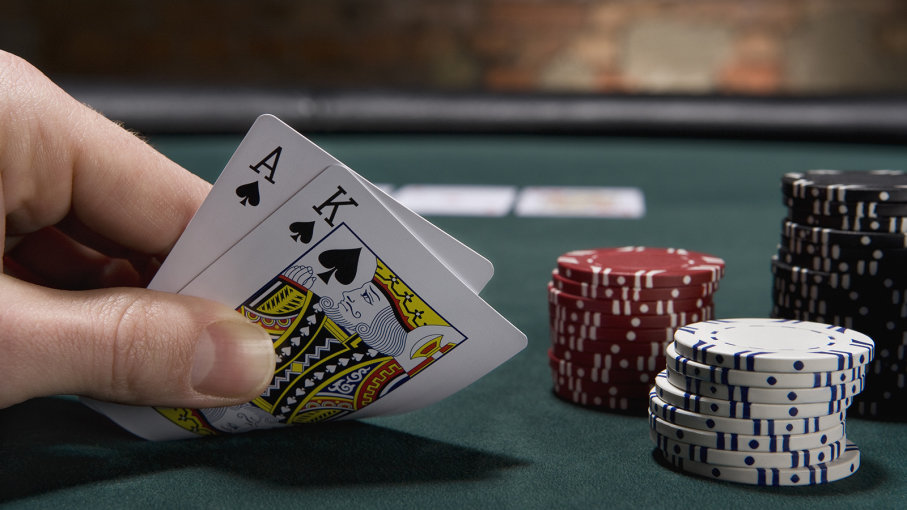 blackjack americano ou europeu