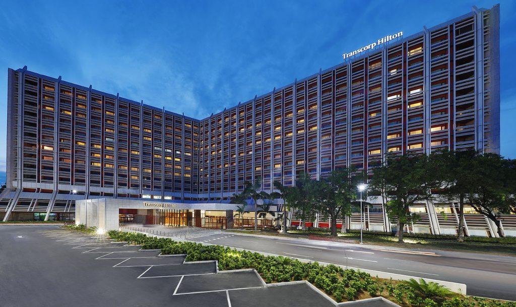 cassinos na nigéria - Transcorp Hilton Abuja